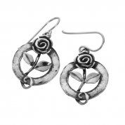 Israeli sterling silver earrings | silver jewelry