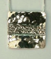 Jewelry silver pendant