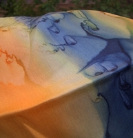 JNF inspired collection the Seas of Israel the Dead Sea scarf