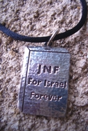 JNF pendant Blue Box for ever for Israel