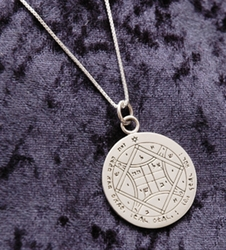 Love seal blessing necklace