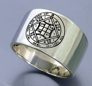 Love Solomon Seal ring