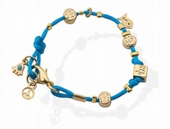 Lucky bracelet with charms Peace hamsa Aled