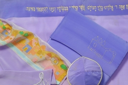 Made in Israel Tallit for woman Jerusalem motif