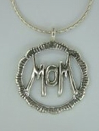 Mom Necklace silver necklace