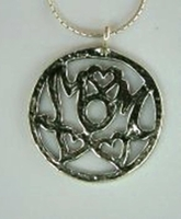 Moms necklace silver jewelry