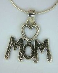 Moms necklace sterling silver jewelry