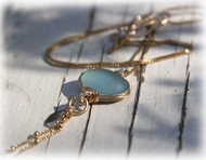 Oceanic designer necklace Israeli jewelry