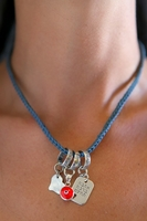 Protection & Blessing charms necklace