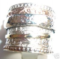 Rings Silver and Gold