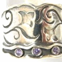Rings   Silver jewelry   Boho silver ring  zircons