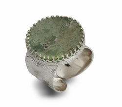 Roman Glass artistic jewelry |  artistic ring