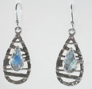 Roman Glass artistic jewelry - earrings