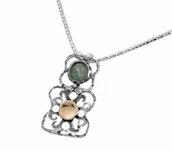 Roman Glass artistic jewelry | necklace