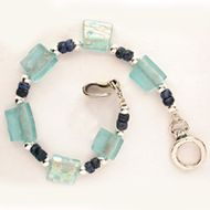 "Roman Glass bracelet ""Made in Israel"""