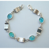 Roman glass jewelry bracelet