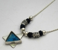 Roman glass star of David Israeli jewelry