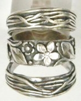 Silver jewelry   Boho ring   silver rings