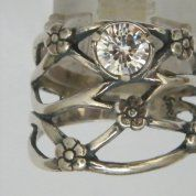 Silver jewelry | sterling silver ring |cz ring