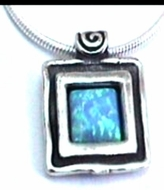 Silver necklace handcafted in Israel