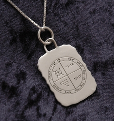 Solomon Seal | Against evil eye Solomon seal | Blessing Solomon  protection necklace