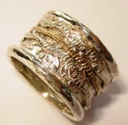 Spinner ring for woman and man. Boho ring