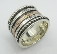 Spinner ring jewelry for men and women