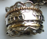 Spinner ring Love ring