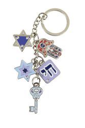 Key Holder with Luck charms