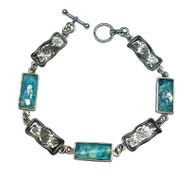 Roman Glass Bracelet rectangular shapes