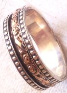 Spinner delicate ring Israeli jewelry rings