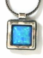 Sterling silver necklaces | Opal necklace |Opal pendant