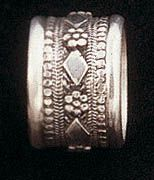 Traditional ethnic filigree ring handcrafted sterling silver