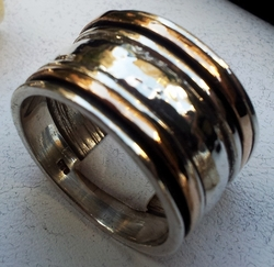 Worry ring - spinner ring - Meditation ring