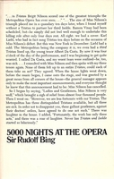 5000 Nights at the Opera   (Rudolf Bing)    (0-385-09259-8)