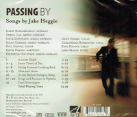Jake Heggie, Susan Graham, Frederica von Stade, Joyce DiDonato, Paul Groves - Passing By  (Avie 2198)