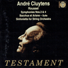 Andre Cluytens  -  Roussel    (Testament SBT 1239)