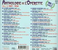 Anthologie de l'Operette, Vol. III (Forlane 19167)