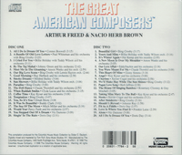 Arthur Freed & Nacio Herb Brown  (2-Columbia Music Collection C2 & C22 8652)