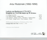 Artur Rodzinski, Vol. XL  -  NYPO   (St Laurent Studio YSL 78-578)
