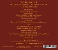 Arturo Toscanini - NYPO Farewell Concerts  (2-Immortal Performances IPCD 1105)