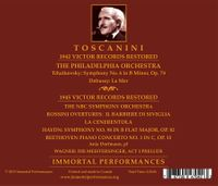 Arturo Toscanini - Philadelphia Victor Recordings Restored;  Ania Dorfmann  (2-Immortal Performances IPCD 1125)