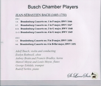 Busch Chamber Players, Vol. II          (2-St Laurent Studio YSL 78-110)
