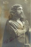Charles Dalmores (Signed Postcard)