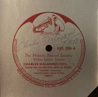 Charles Dalmores (Signed Record Label)