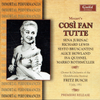 Cosi fan Tutte  (Busch;  Jurinac, Howland, Quesnel, Lewis, Rothmuller)  (2-Guild 2303/04)