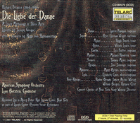 Der Liebe der Danae (Strauss)  (Botstein;  Lauren Flanigan, Peter Coleman-Wright, Lisa Saffer, Hugh Smith, William Lewis) (3-Telarc 80570)
