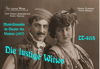 Die lustige Witwe (Lehar) -  First CD Release of the Original 1907 Berlin Cast  (2-Truesound Transfers 4014)