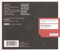 Don Giovanni (Bohm;  London, Kunz, Weber, Dermota, della Casa, Jurinac, Seefried, Walter Berry)  (3-Myto 00217)