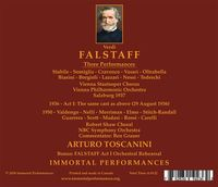 Falstaff  (Toscanini;  Stabile, Valdengo, Cloe Elmo, Dino Borgioli, Lazzari)  (5-Immortal Performances IPCD 1100)
